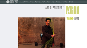 Art Department website