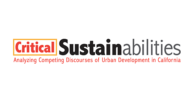 Critical Sustainabilities logo