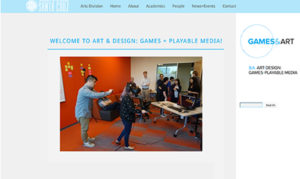 Games Program website