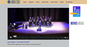Music Department website