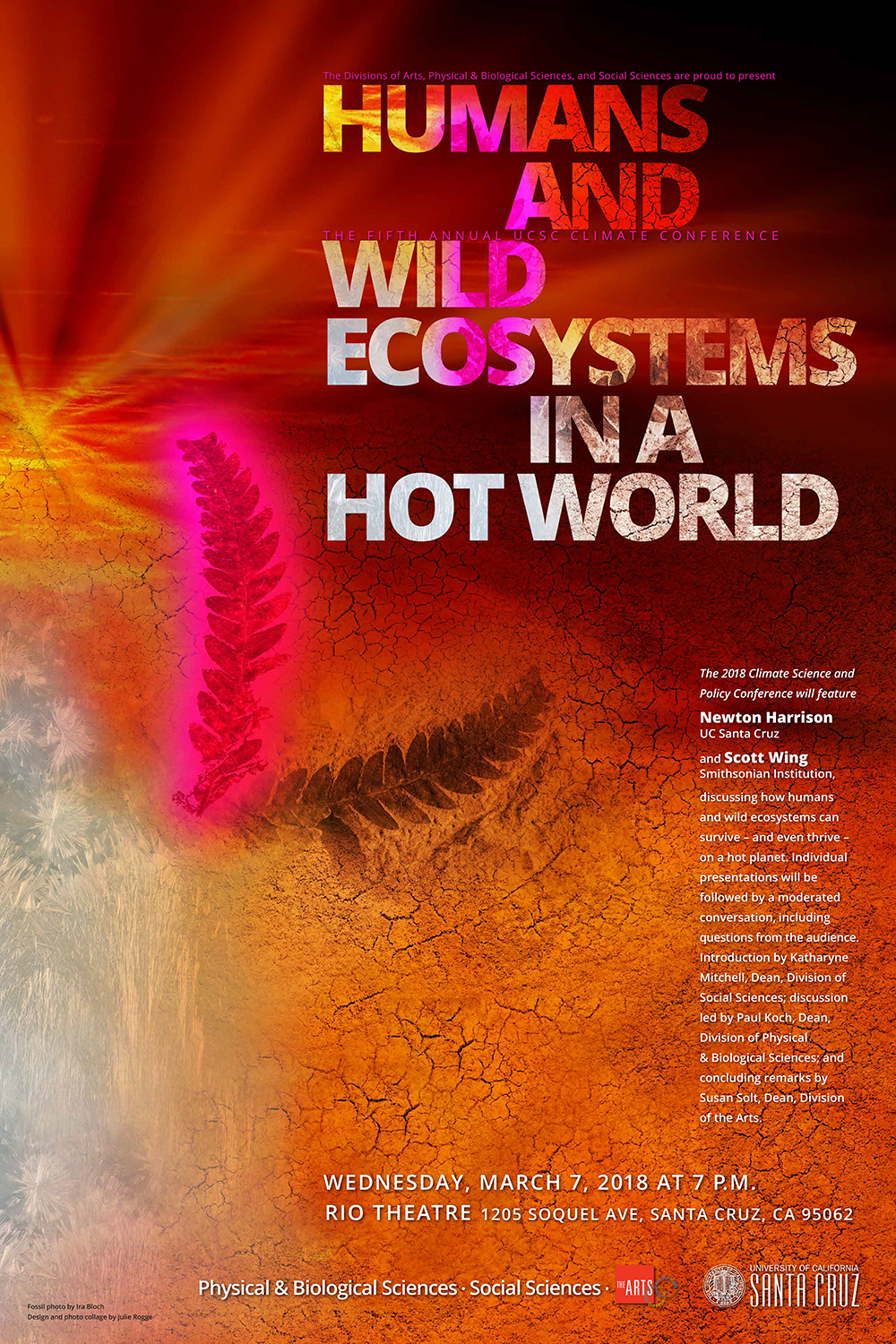 Humans and Wild Ecosystems in a Hot World poster