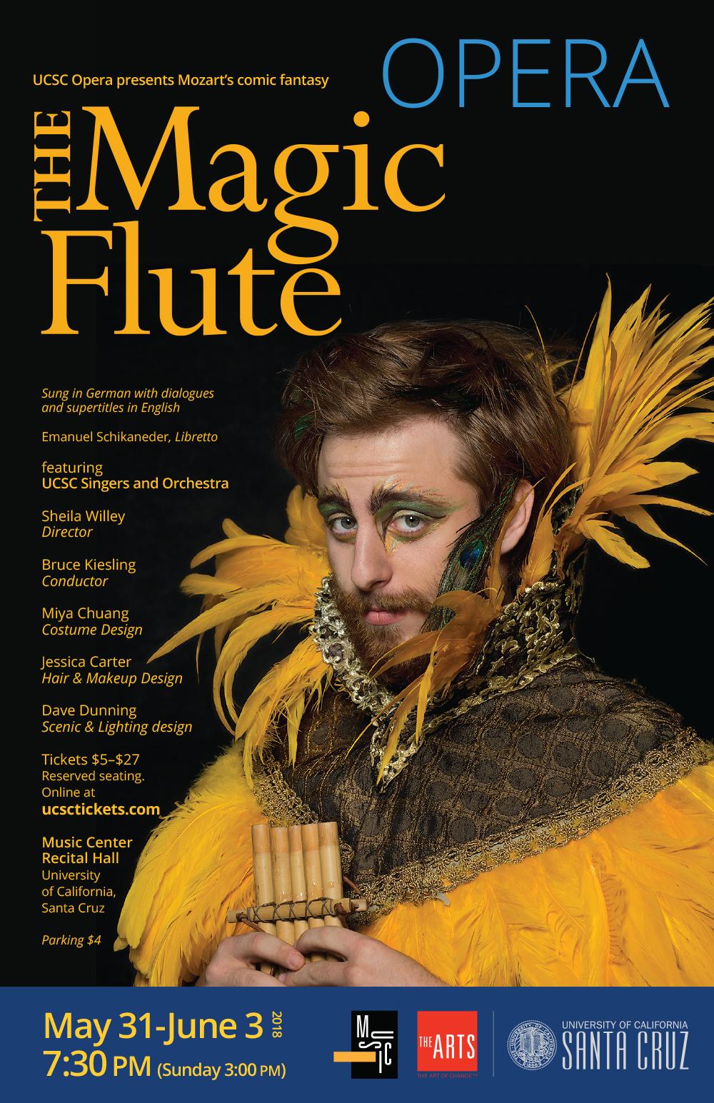 Magic Flute opera poster