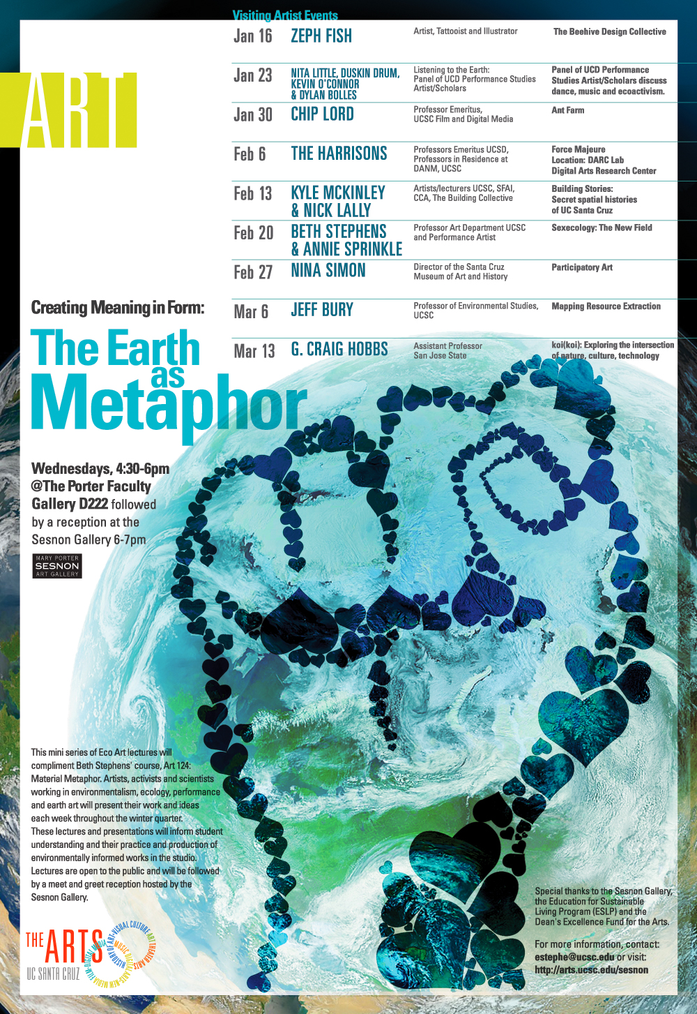 The Earth as Metaphor poster